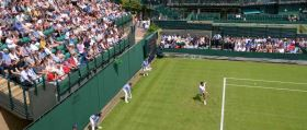 Watching the Wimbledon Tennis Tournament on TV & Online