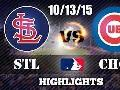 10/13/15 NLDS Game 4 ● St.Louis Cardinals vs Chicago Cubs ● Full Hightlights