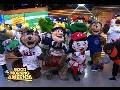 MLB Opening Day 2016 - Highlights of MLB Mascots on 'GMA'
