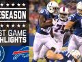Colts vs. Bills - Post Game Highlights