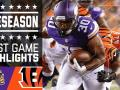 Vikings vs. Bengals - Post Game Highlights