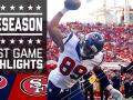 Texans vs. 49ers - Post Game Highlights