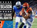 Bengals vs. Lions - Post Game Highlights