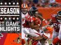 Falcons vs. Browns - Post Game Highlights