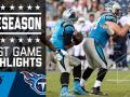 Panthers vs. Titans - Post Game Highlights