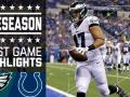 Eagles vs. Colts - Post Game Highlights