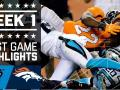 Panthers vs. Broncos Full Highlights (Week 1)