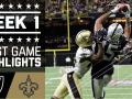 Raiders vs. Saints (Week 1) Highlights