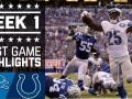 Lions vs. Colts (Week 1) Highlights