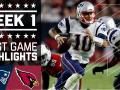 Patriots vs. Cardinals (Week 1) Highliights