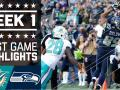 Dolphins vs. Seahawks (Week 1) Highlights
