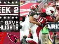 Buccaneers vs. Cardinals (Week 2)