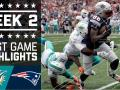 Dolphins vs. Patriots (Week 2)