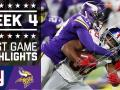 Giants vs. Vikings (Week 4)