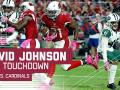 David Johnson Scores His 3rd TD of the Night!