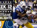 Steelers vs. Colts (Week 12)
