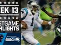 Panthers vs. Seahawks (Week 13)