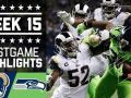 Rams vs. Seahawks - NFL Week 15 Game Highlights