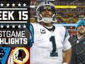 Panthers vs. Redskins NFL Week 15 Game Highlights