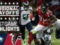 Seahawks vs. Falcons - NFL Divisional Game Highlights NFL  NFL