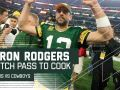 Aaron Rodgers' Clutch Pass to Cook to Set Up Game Winning FG!