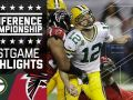 Packers vs. Falcons - NFC Championship Game Highlights
