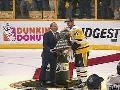 Sidney Crosby Receives Conn Smythe Trophy. 2017 NHL Stanley Cup Finals