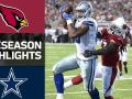 Cardinals vs. Cowboys - Hall of Fame Game Highlights