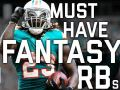 Must-Own Running Backs For Your 2017 Fantasy Team