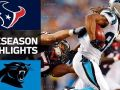 Texans vs. Panthers - NFL Preseason Week 1 Game Highlights