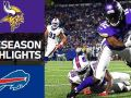 Vikings vs. Bills - NFL Preseason Week 1 Game Highlights