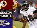 Redskins vs. Ravens - NFL Preseason Week 1 Game Highlights