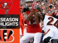 Buccaneers vs. Bengals - NFL Preseason Week 1 Game Highlights