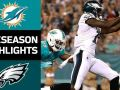 Dolphins vs. Eagles - NFL Preseason Week 3 Game Highlights