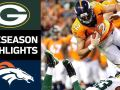 Packers vs. Broncos - NFL Preseason Week 3 Game Highlights