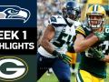 Seahawks vs. Packers - NFL Week 1 Game Highlights