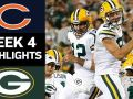 Bears vs. Packers - NFL Week 4 Game Highlights