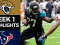 Jaguars vs. Texans - NFL Week 1 Game Highlights