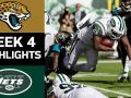 Jaguars vs. Jets - NFL Week 4 Game Highlights