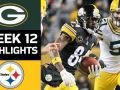 Packers vs. Steelers - NFL Week 12 Game Highlights
