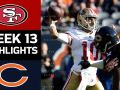 49ers vs. Bears - NFL Week 13 Game Highlights
