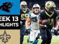 Panthers vs. Saints - NFL Week 13 Game Highlights