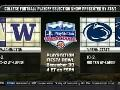 Penn State Bowl Game Announced - Fiesta Bowl vs Washington