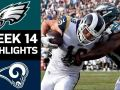 Eagles vs. Rams - NFL Week 14 Game Highlights