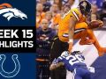 Broncos vs. Colts - NFL Week 15 Game Highlights