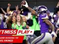 Stefon Diggs Makes Miracle TD Catch on Last Play, Vikings Win!