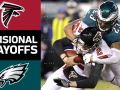 Falcons vs. Eagles - NFL Divisional Round Game Highlights