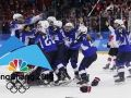 USA defeats Canada to win the gold medal in women's hockey