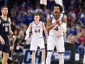 Kansas recovers from early struggles to beat Penn, 76-60