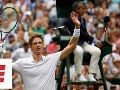 The last (50th!) game of Anderson vs. Isner's epic semifinal marathon match at Wimbledon 2018